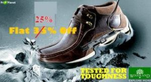 Flat 40% Discount on Woodland Shoes (Hurry!! Few Pairs are available)