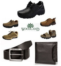 Flat 38% Discount on Woodland Men's Shoes / Sandals, Wallet & Belts