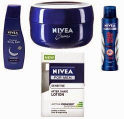 Nivea Men / Women Skin Care products - Extra 20% Off