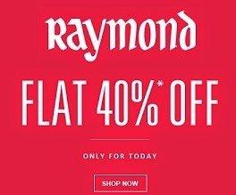 Raymonds Men Clothing - Minimum 40% Off