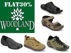 Woodland Footwear: Flat 50% Off