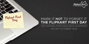 (Live Now) Flipkart First Day Exclusive Offers on 13th November'14