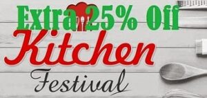 Grand Kitchen Festival: Get Extra 25% Discount on Cookware   Kitchen Storage   Dining & Serving