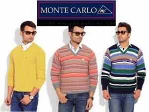 Monte Carlo Men Pullovers - Min 30% Discount