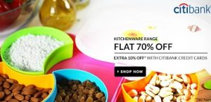 Home & Kitchen Needs: Flat 70% Off on Imported Range @ Flipkart