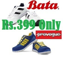 Bata & Provogue Casual Shoes just for Rs.399 Only @ Flipkart (Limited Period Offer)