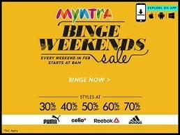 myntra weekend offer