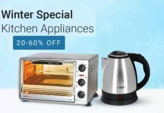 Never before Prices: Minimum 50% Off on Kitchen Small Appliances @ Flipkart