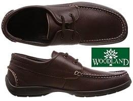 Woodland Men Leather Shoe
