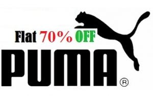Puma Men's Clothing – Flat 70% Off @ Amazon