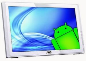 AOC a2258pwh All-in-One Desktop (Cortex A9 Dual Core/ 1GB/ Android v4.0.4 (ICS) OS / 21.5 inch Size/ 4GB Flash