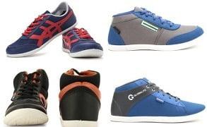 Affordable Globalite, Bata, Gliders, North Star Men's Footwear below Rs.499