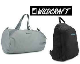 Wildcraft Backpacks & Bags: Flat 60% Off from Rs.380 Only @ Flipkart