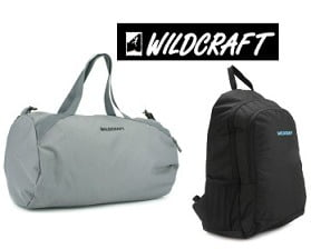Wildcraft Backpacks & Bags: Minimum 60% Off from Rs.430 Only @ Flipkart