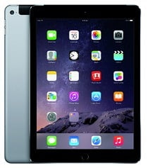 Deep Discounted Deal: Apple iPad Air 2 Wi-Fi + Cellular 16 GB Tablet(Space Grey, 16, Wi-Fi, 4G) for Rs.28699 Only @ Flipkart