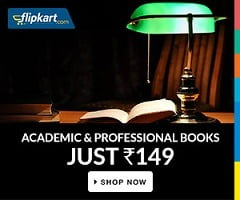 Academic & Entrance Exams Books | Fiction & Non-Fiction Books : All for Rs.149 Only @ Flipkart (Valid for Today Only)