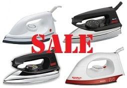 Dry Iron - Flash Sale (Upto 65% Off)