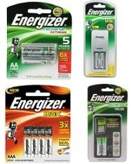 Upto 53% Off on Energiser Ni-MH & Alkaline Batteries below Rs.699 with 1 Yr Warranty @ Flipkart (Limited Period Deal)