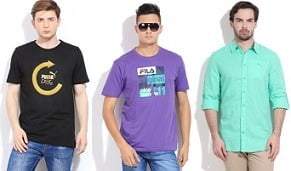 Puma, Adidas, Fila, Reebok Men's Wear below Rs.999 @ Flipkart (Limited Period Offer)