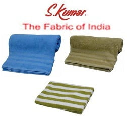 S Kumars Knitted Bath Towels just for Rs.169 Only (Flat 32% Off) Limited Period Offer