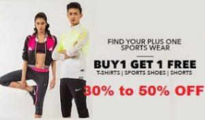 Clothing & Footwear- Flat 50% Off