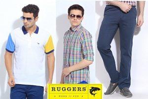 Minimum 50% Off on Ruggers Men's Clothing @ Amazon