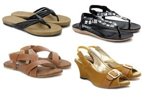 Women's Footwear (Lavie, Puma, Bata, Bonjour, Hype, Jade & more) below Rs.999 @ Flipkart