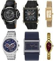 Branded Watches (Casio, Timex, Titan, Citizen, Fossil, Fastrack) - Min 50% Off