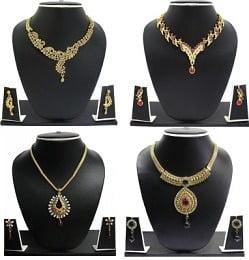Zaveri Pearls Fashion Jewellery Sets below Rs.250