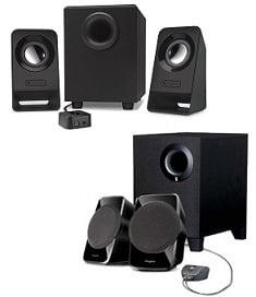 Best Lowest Price Deal: Logitech Z213 2.1 Multimedia Speakers for Rs.1254   Creative SBS A120 2.1 Multimedia Speaker