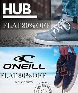 International Brand Men's Shoes: Flat 80% Off on HUB Men's Shoes
