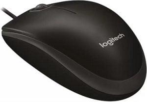 Logitech Wired Mouse B100 for Rs.249 @ Flipkart