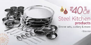 Stainless Steel Kitchen Utensils - Up to 40% Off