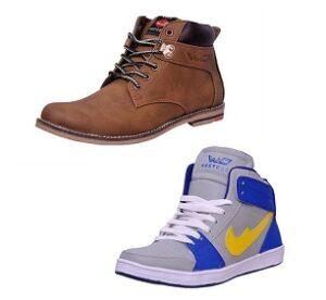 Min 63% Off on West Code Men's Footwear @ Amazon