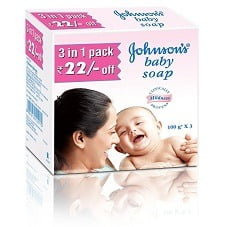 Johnson's Baby Soap (100g x 3)
