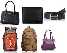 Belts, Bags, Wallets & Luggage up to 70% Off