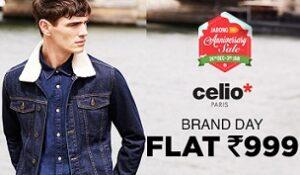 Brand Day Offer: Celio Paris Men's Clothing - Rs.999