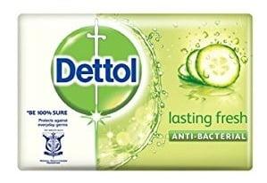Dettol Lasting Fresh Soap (75g x 3)
