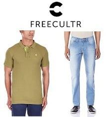 Freecultr Men Clothing- Flat 60% Off