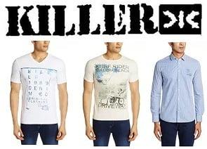 Killer Men T-Shirts & Shirts - Flat 60% Off