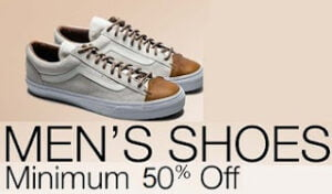Minimum 50% Off on Top Brand Men Shoes / Slippers/ Floaters