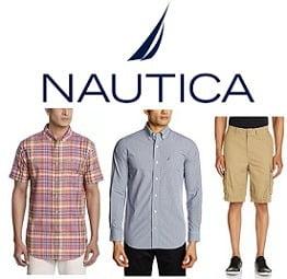 Flat 60% Off on Nautica Men Clothing