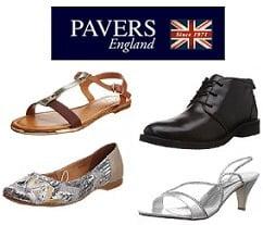 Flat 70% Off on Pavers England Men / Women Footwear