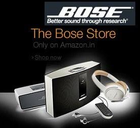 Bose Headphones - Flat 30% Off