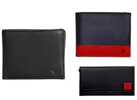 Flat 70% to 80% Off on Hidesign Men Leather Wallet