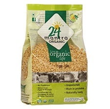 Buy 05 Kgs 24 Mantra Organic Tur Dal (1kg Pack) & Get Rs.250 worth Amazon Gift Voucher