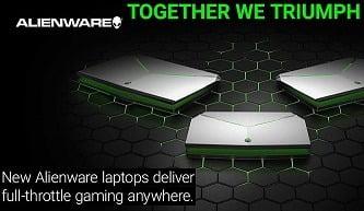 Dell Alienware & Premium Gaming Laptops starts from Rs.56,490 @ Flipkart