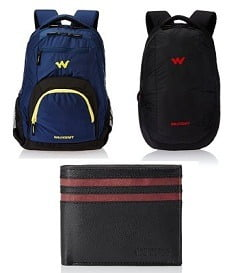 American Tourister & Wildcraft Wallet & Backpacks - Up to 55% Off