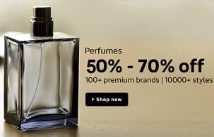 Perfumes & Fragrences: 50% – 80% Off on Calvein Klein | Benetton | Diesel Plus | Davidoff | Hugo & more @ Flipkart