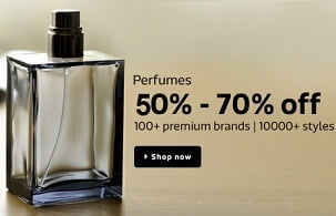 Perfumes & Fragrences: 50% – 80% Off on Calvein Klein | Benetton | Diesel Plus | Davidoff | Hugo & more @ Flipkart